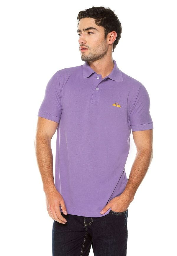 Camiseta Polo - Lila | Polovers