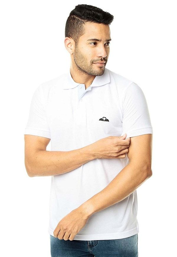 Camiseta Polo Oxford - Blanco| Polovers