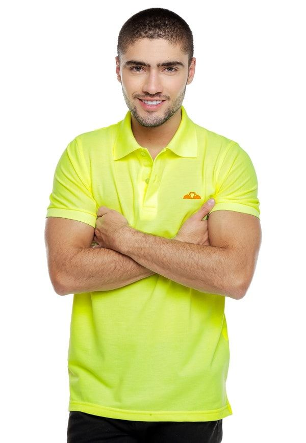 Camiseta Polo - Amarillo Neón | Polovers