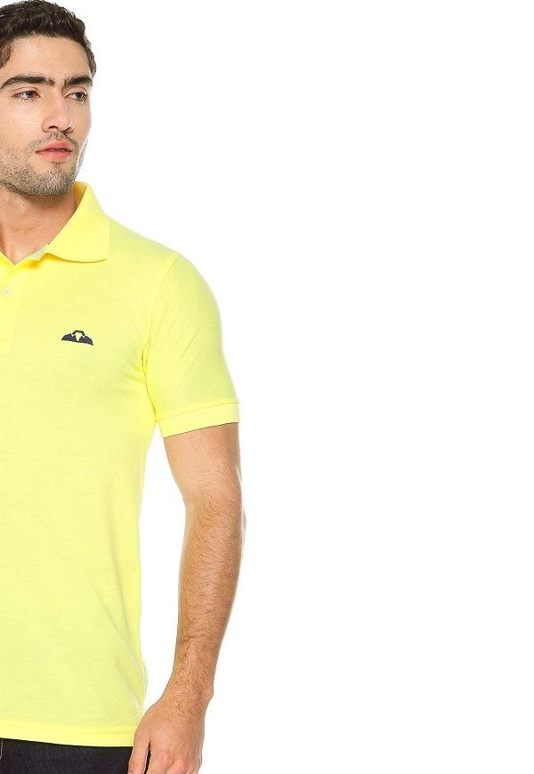 Camiseta Polo - Amarillo | Polovers
